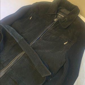 Coat with belt. Used